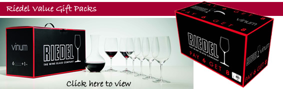 Riedel Gift Pack Offers