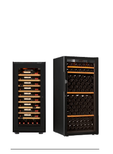 EuroCave offer several dimensions of wine cabinet. From small capacities to large capacities.