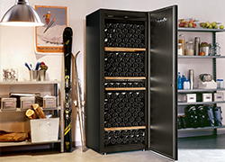You can install your wine cabinet in your garage or your cellar.