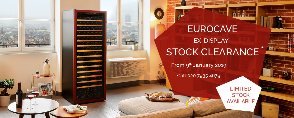 Eurocave ex-display clearance sale